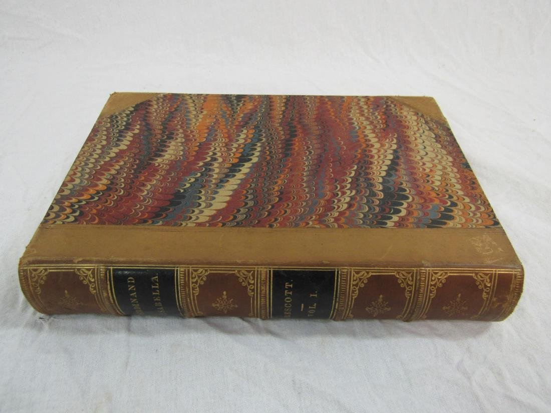 Antique Book Titled, The History of Ferdinand &