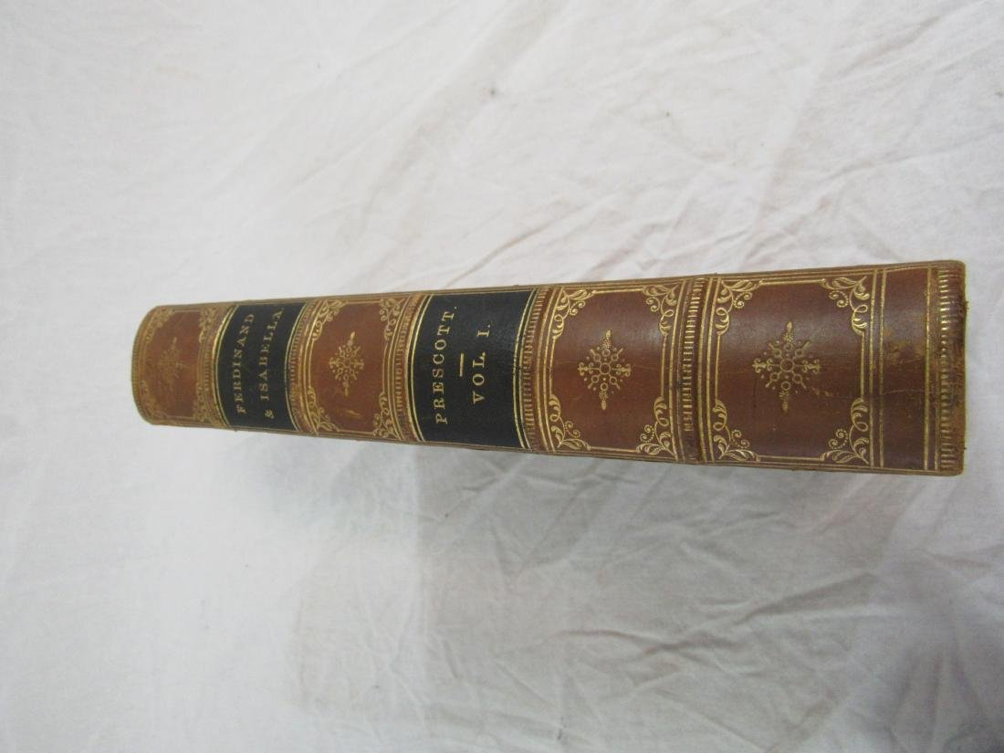 Antique Book Titled, The History of Ferdinand & - 2