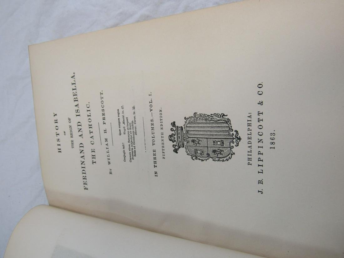 Antique Book Titled, The History of Ferdinand & - 3
