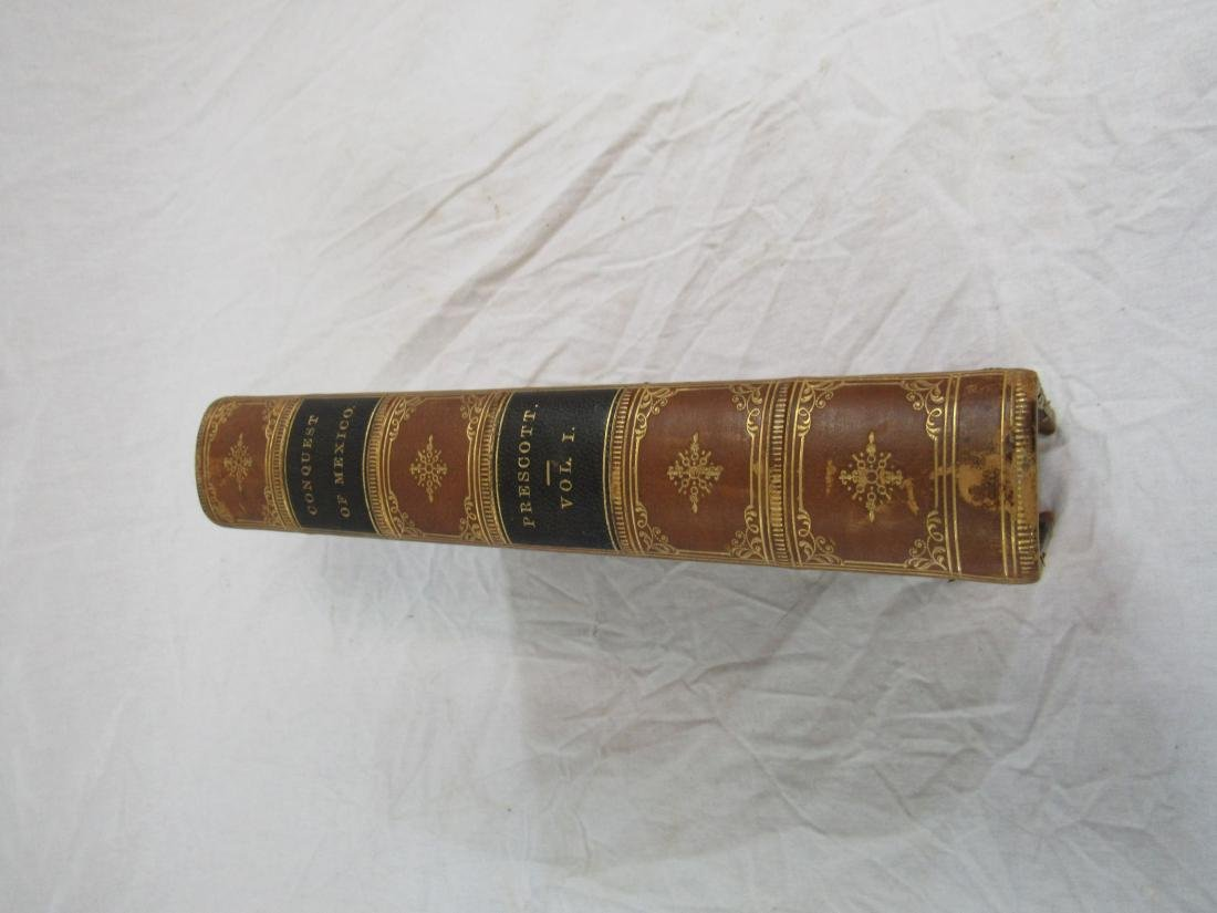 Antique Book Titled, The History of Conquest of Mexico - 2