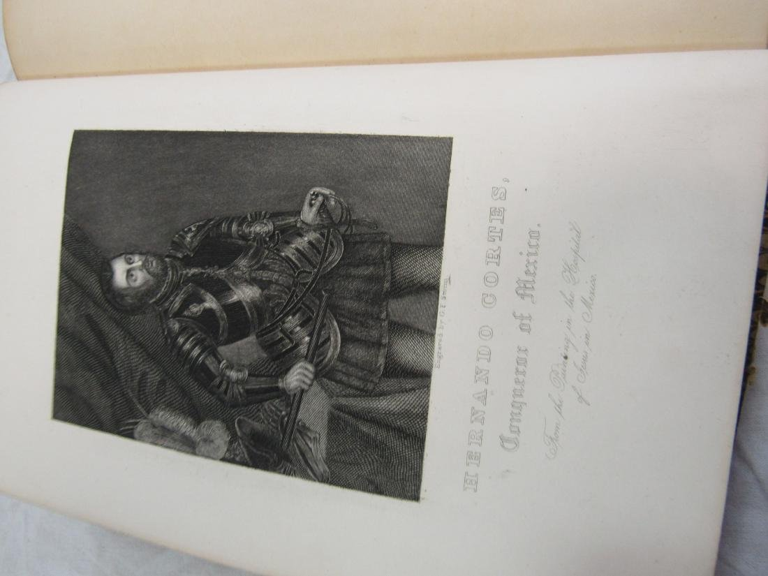 Antique Book Titled, The History of Conquest of Mexico - 4