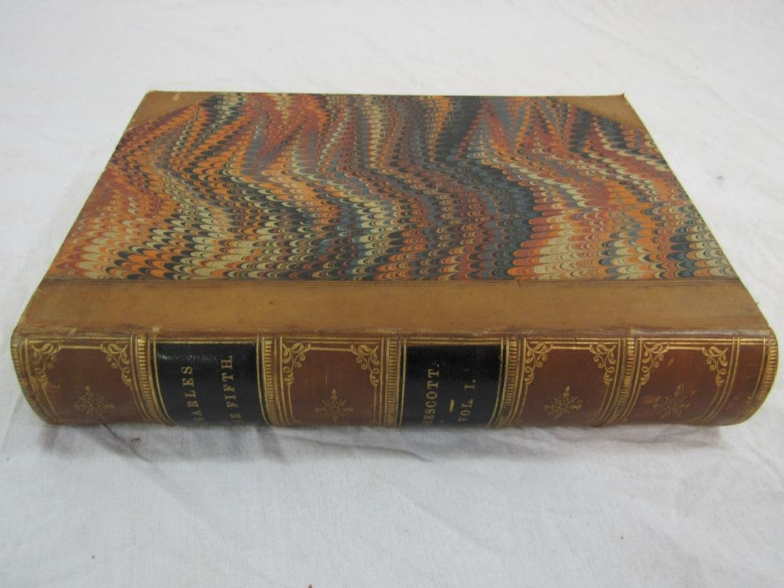 Antique Book Titled, The History of Emperor Charles the
