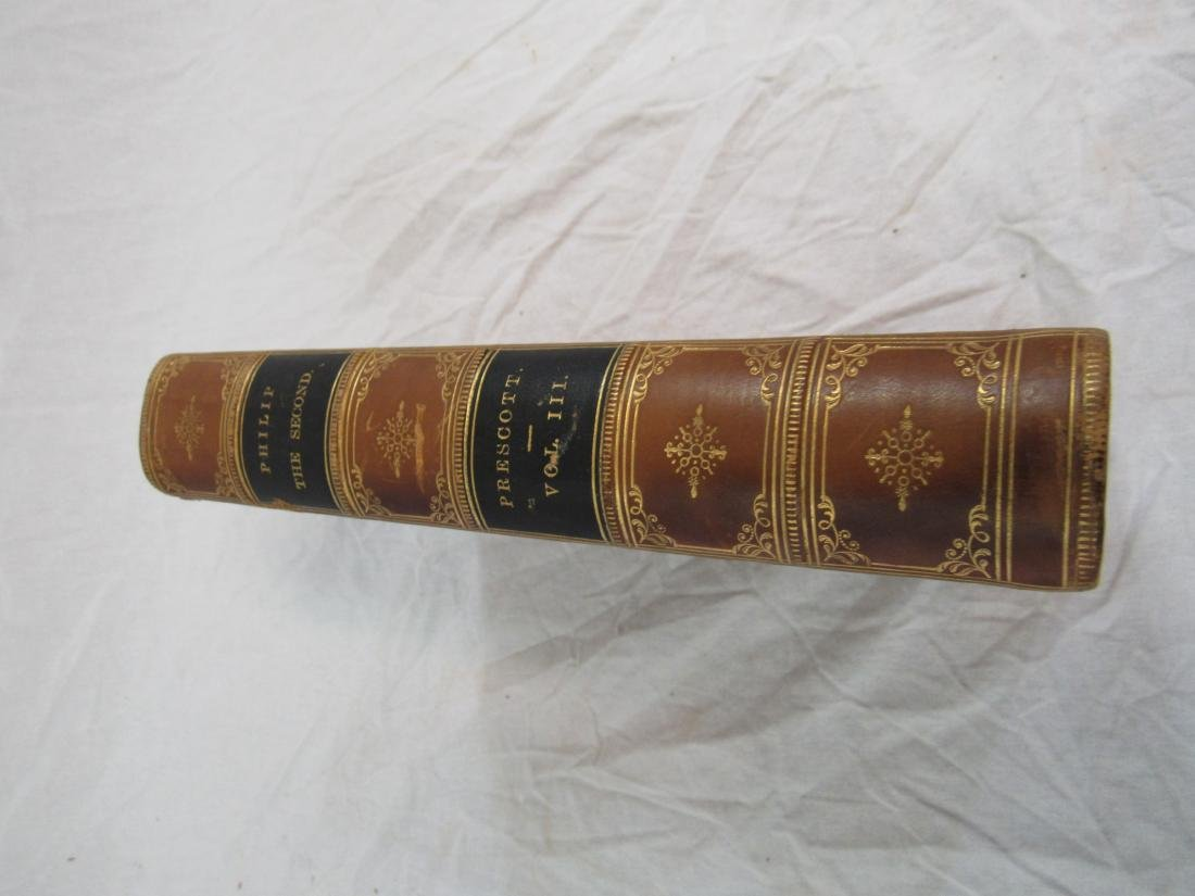 Antique Book Titled, The History of Pilip the Second - 2
