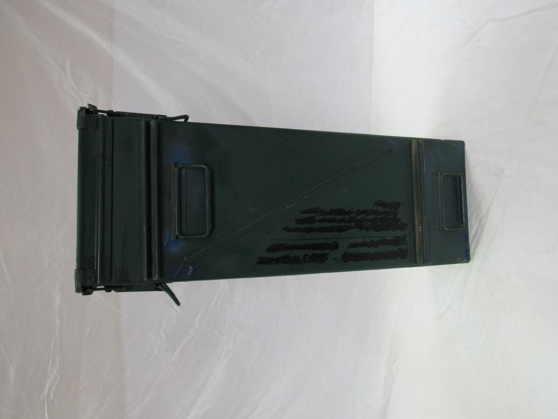 Large Metal Cartridge Box