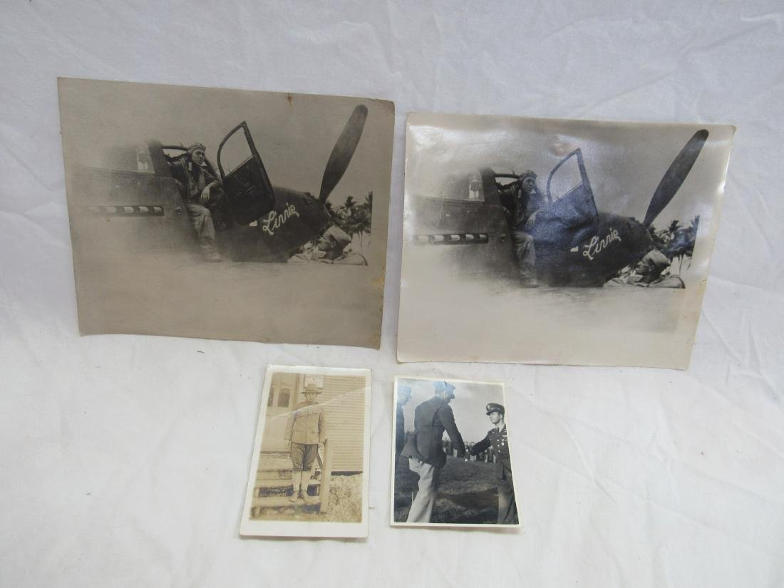 Lot of 4 Military Photos