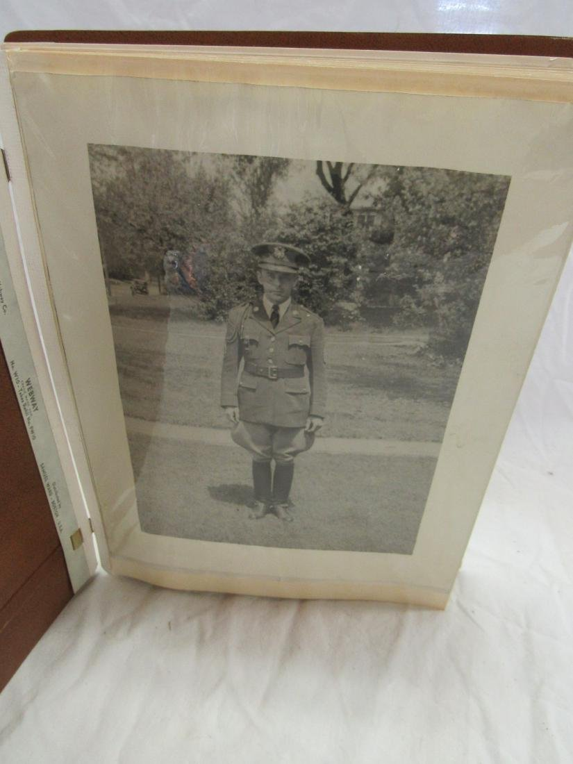 Maj Rex Russell Wise Military Snapshot Album