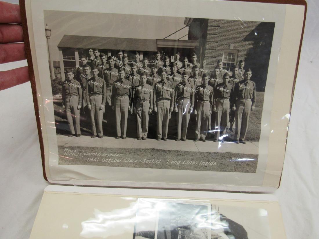 Maj Rex Russell Wise Military Snapshot Album - 2