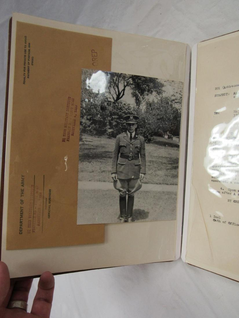 Maj Rex Russell Wise Military Snapshot Album - 3