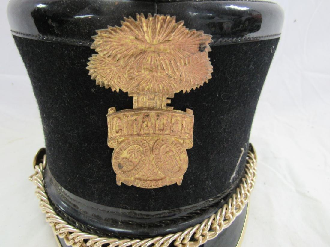 Vintage Citadel Shako Parade Hat - 2