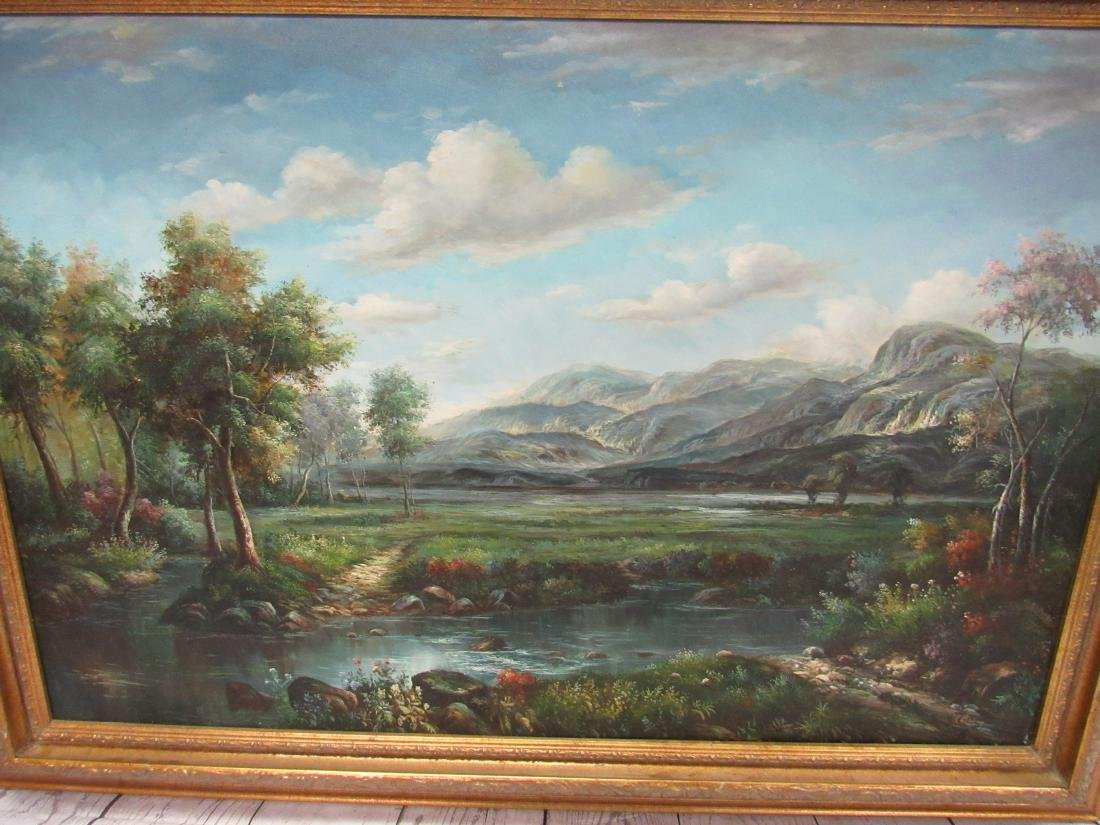 Modern Oil on Canvas Landcape Painting - 2