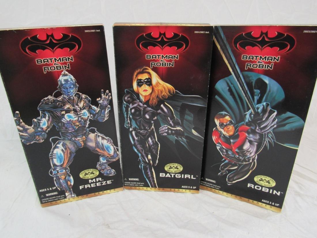 Kenner Batman & Robin Collector Series Action Figures