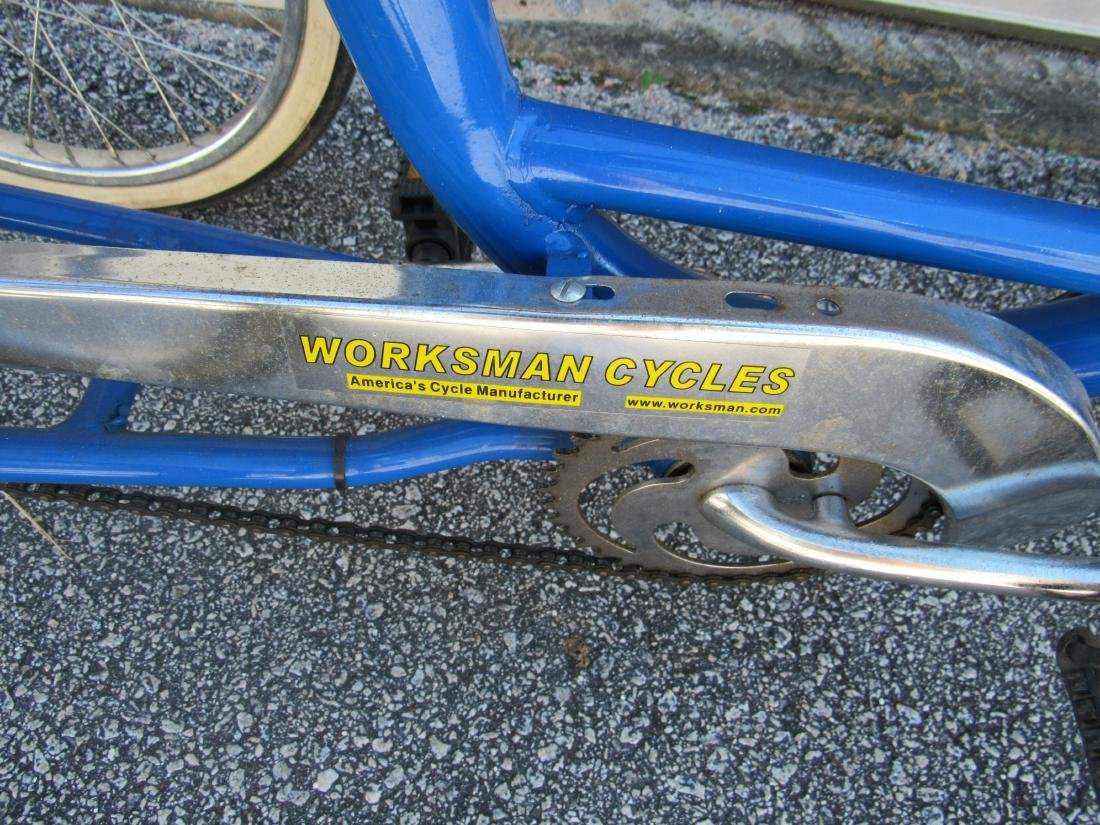 Worksman Cycles Folding Comfort Cycle - 4