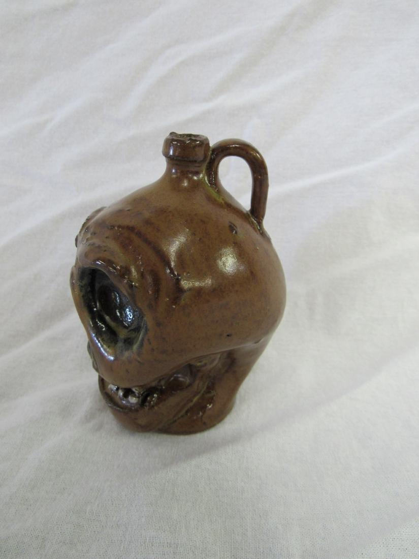 Self Taught/ Folk Artist Marvin Bailey Miniature Skull - 2
