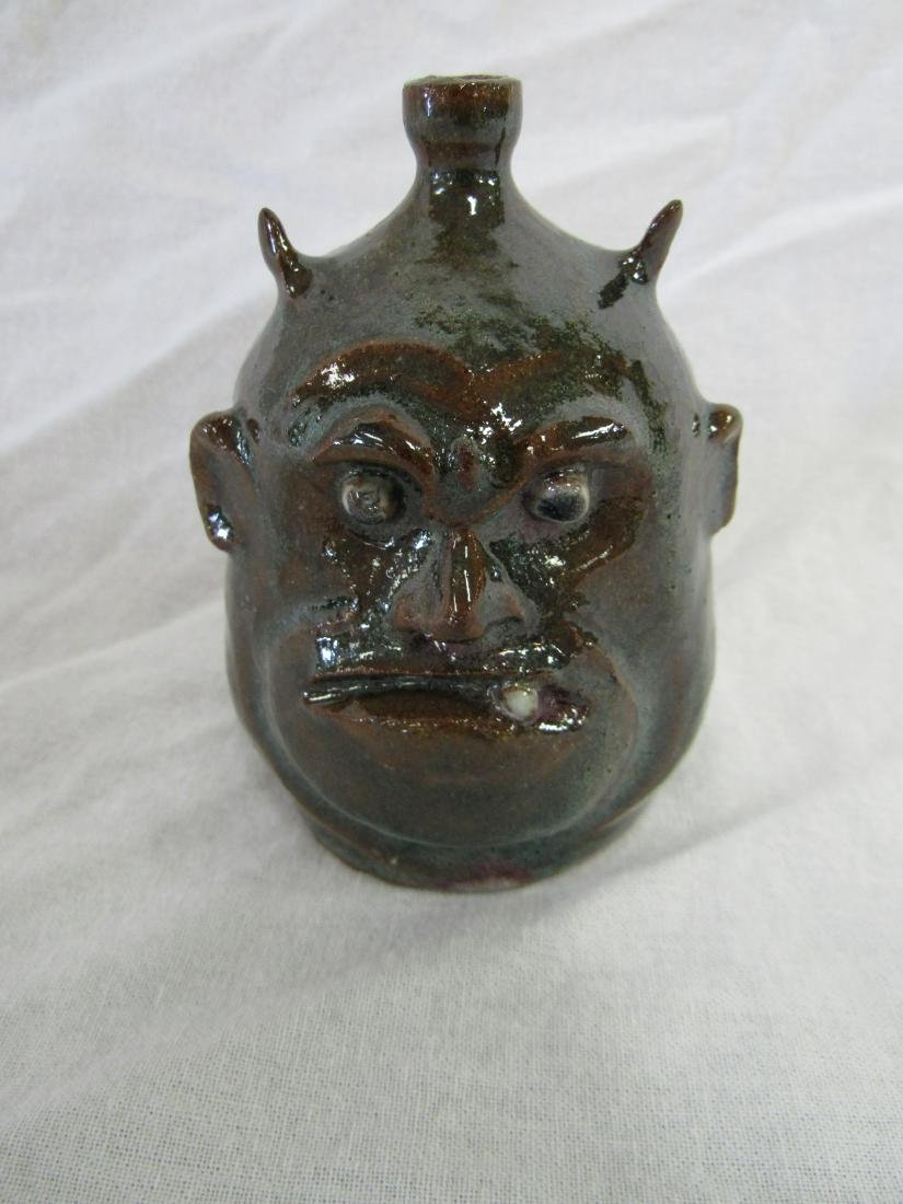 Self Taught/ Folk Artist Marvin Bailey Miniature Devil