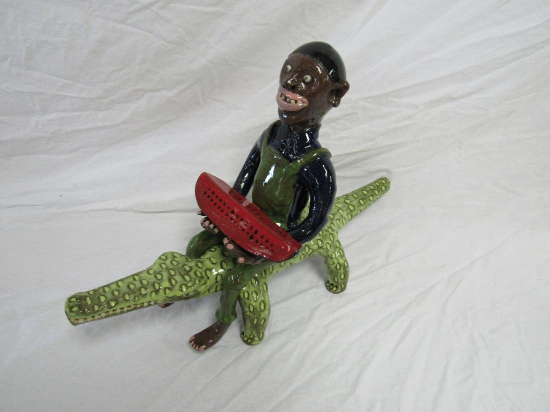 Self Taught/ Folk Artist Marvin Bailey Figural