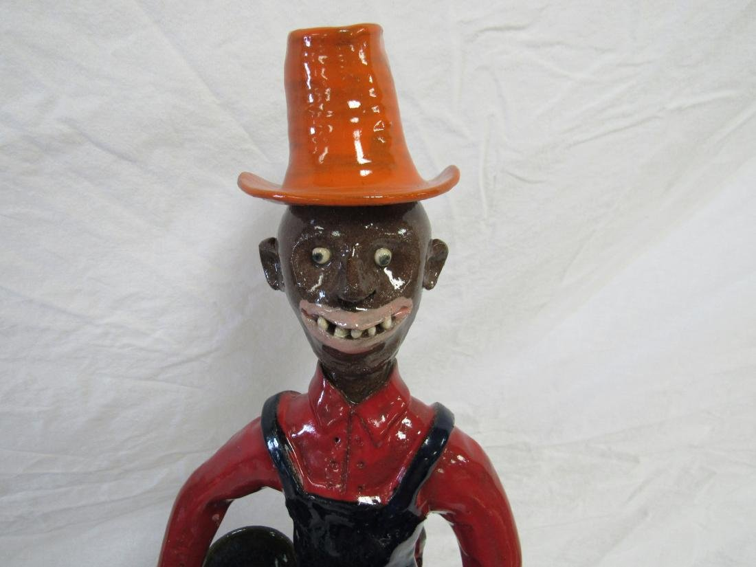 Self Taught/ Folk Artist Marvin Bailey Figural - 2
