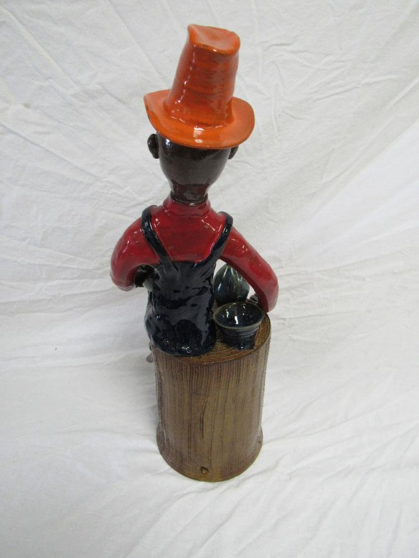 Self Taught/ Folk Artist Marvin Bailey Figural - 5