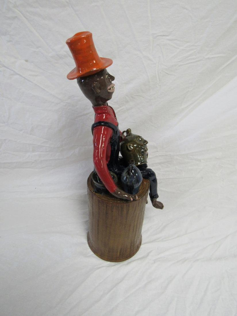 Self Taught/ Folk Artist Marvin Bailey Figural - 6