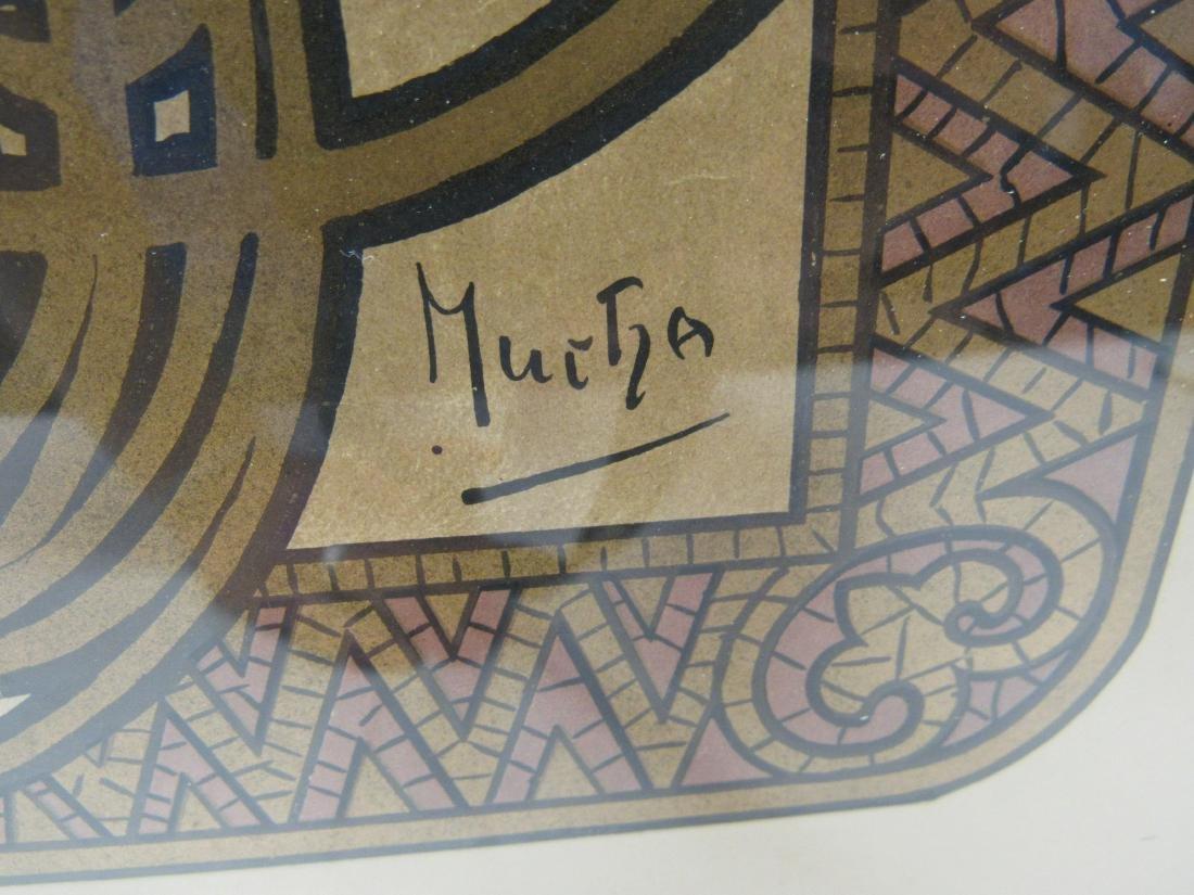 Original Alphonse Mucha JOB Advertising Poster - 4