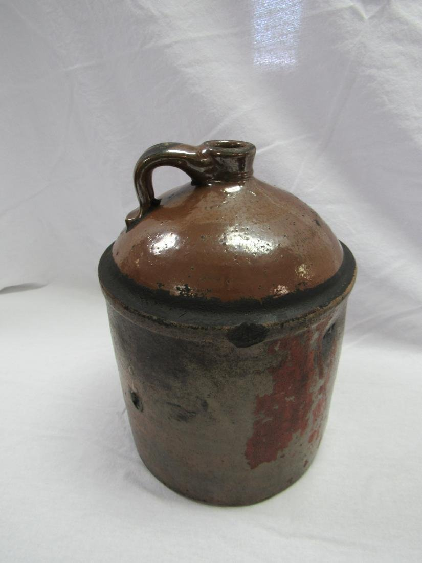 Pre 1907 Rose Distillery Atlanta, GA Whiskey Jug Signed - 3