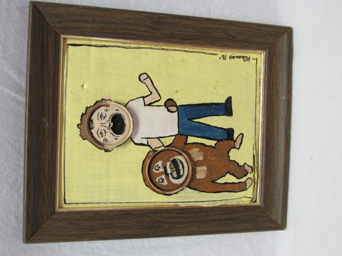 "Folk Art Local Artist Kip Ramey titled ""Any Which Way"