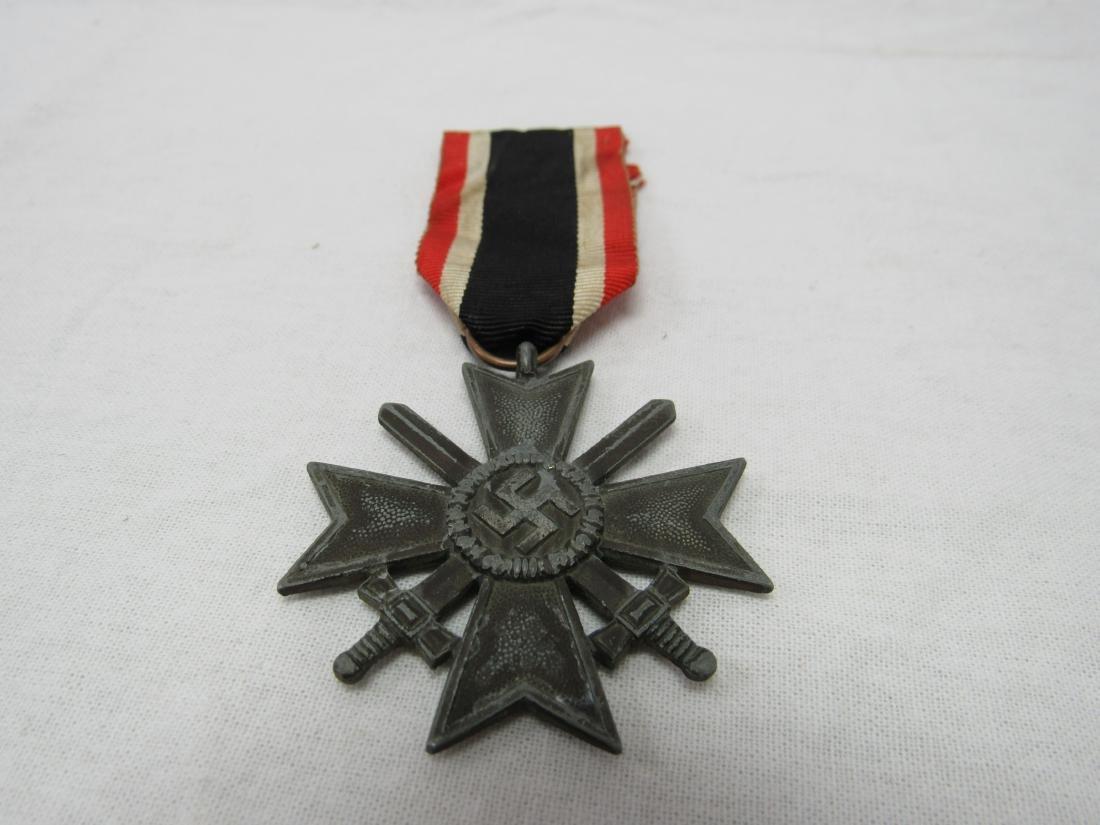 WWII German War Merit Cross with Swords