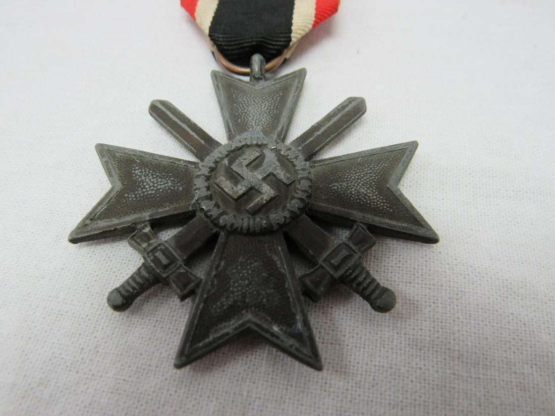 WWII German War Merit Cross with Swords - 2