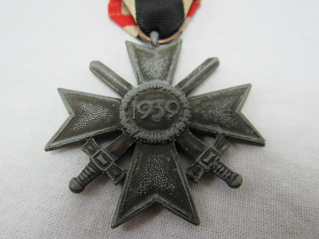 WWII German War Merit Cross with Swords - 3
