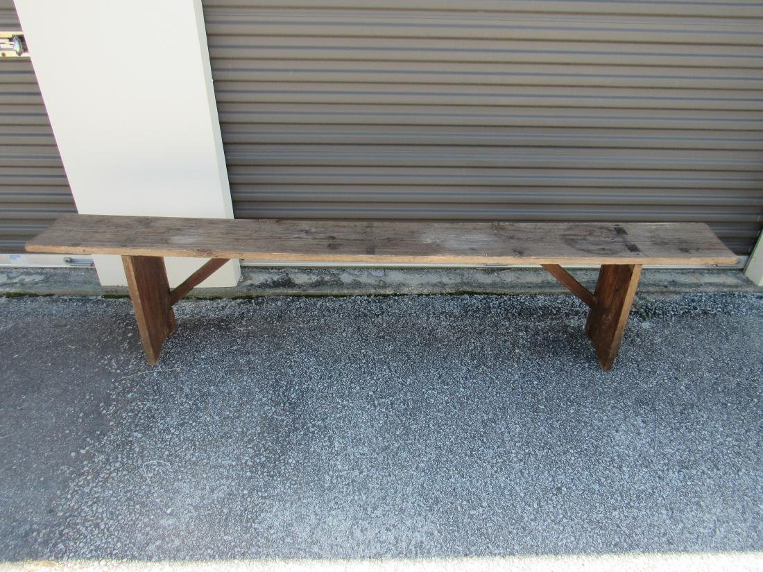 Primitive Pine Bench