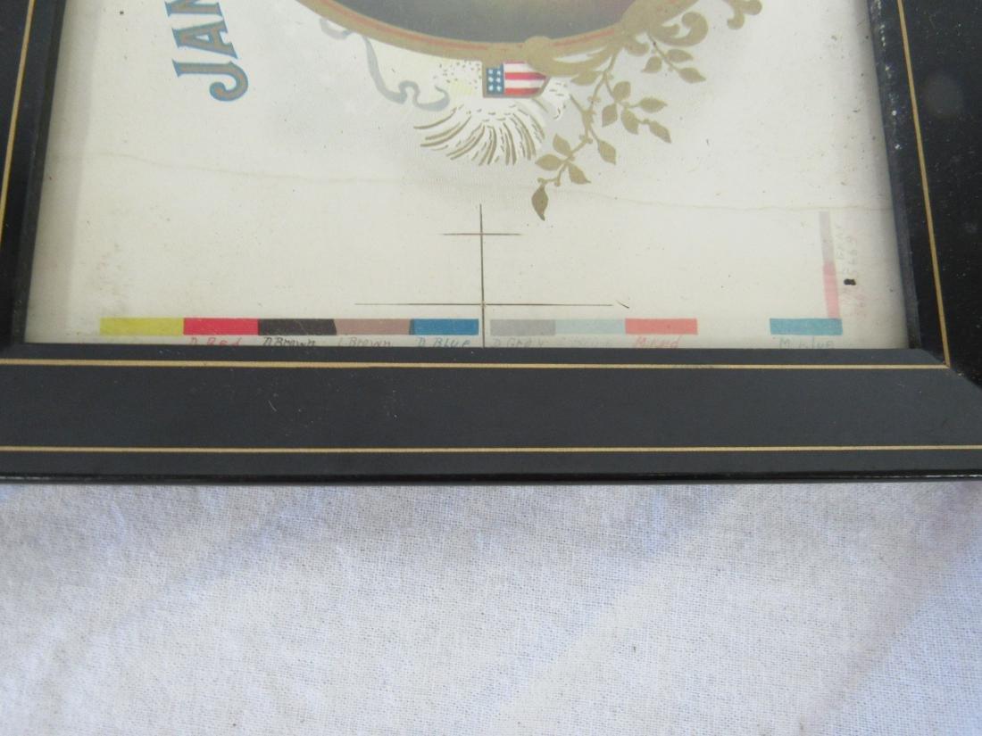 James Smithson Chromolithograph Cigar Label - 2