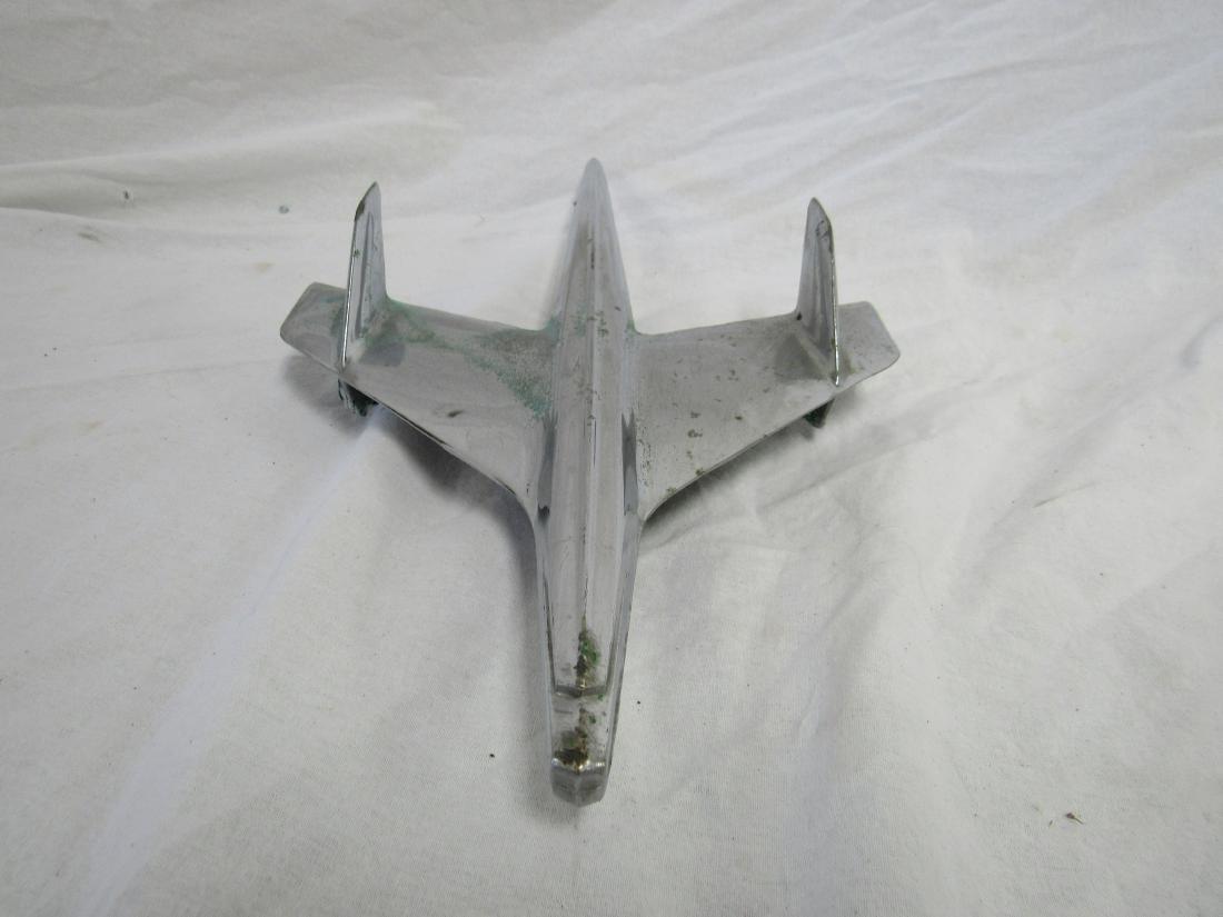 1950s Bel Air Jet Eagle Hood Ornament - 3