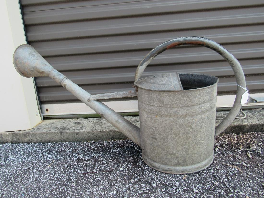Bat Brand Galvanized Watering Can