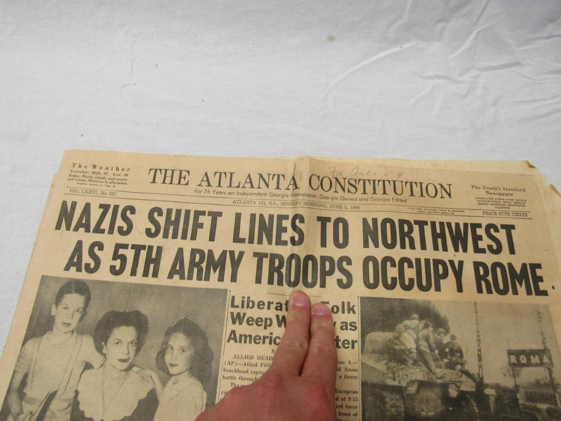 The Atlanta Constitution Newspaper January 5, 1944. - 2