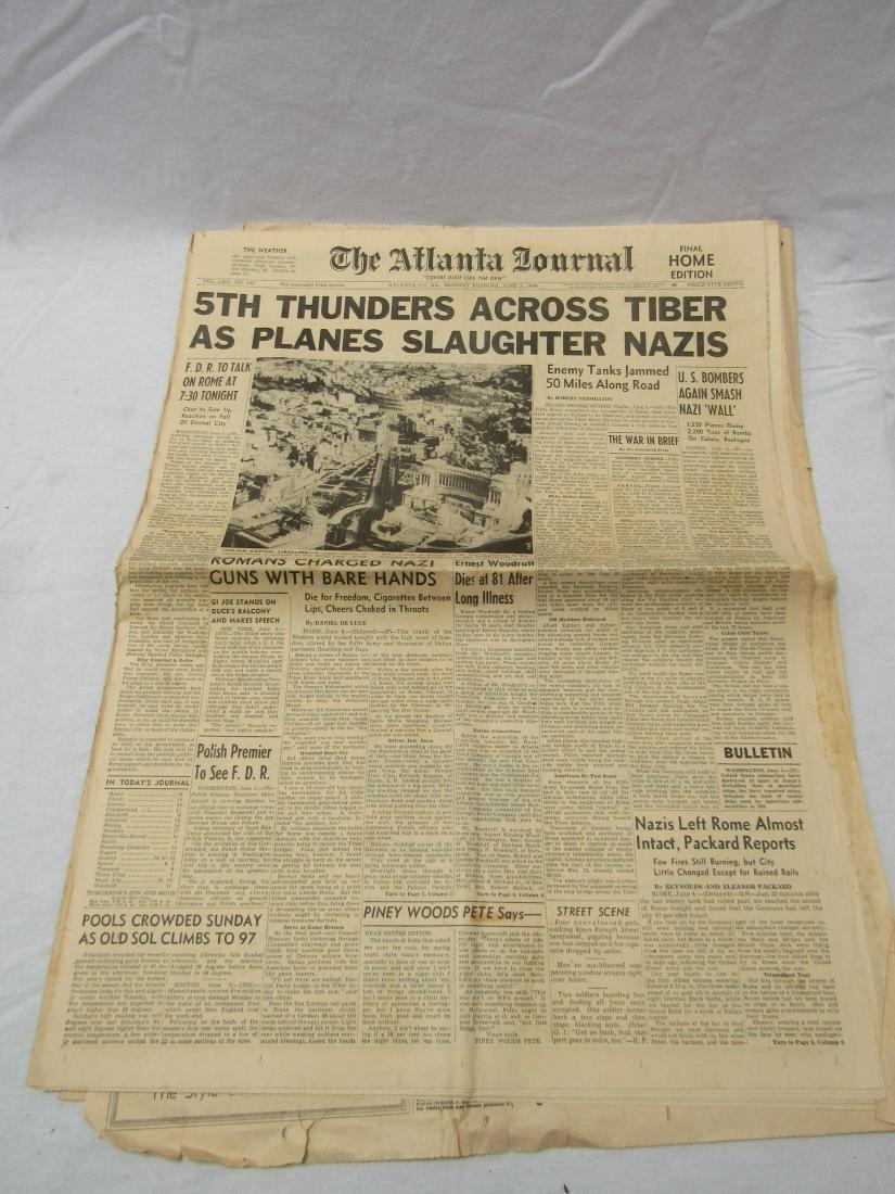 The Atlanta Journal Constitution Newspaper June 5,