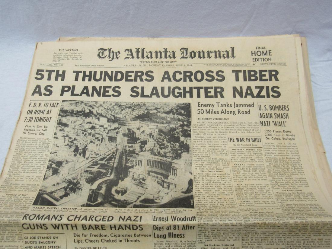 The Atlanta Journal Constitution Newspaper June 5, - 2