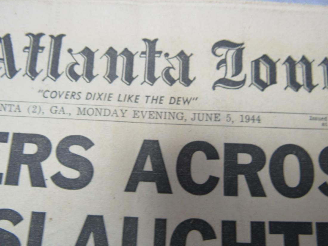 The Atlanta Journal Constitution Newspaper June 5, - 3