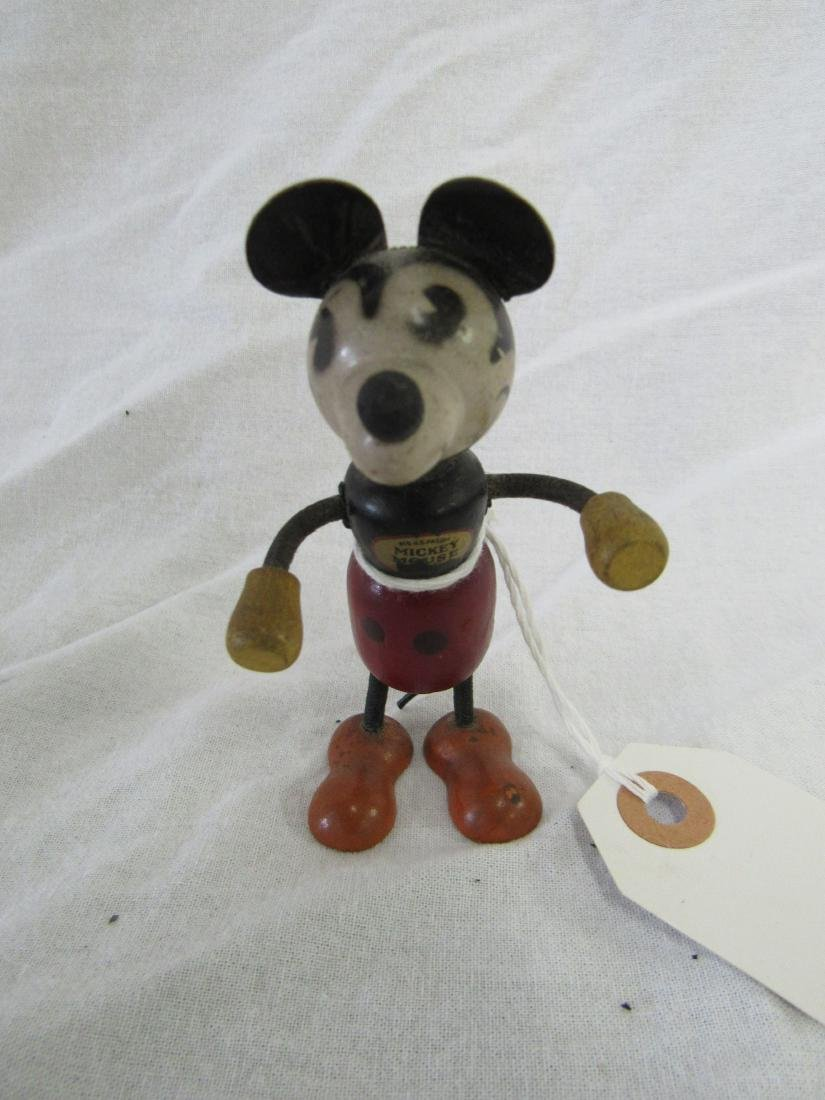 Antique Wooden Mickey Mouse