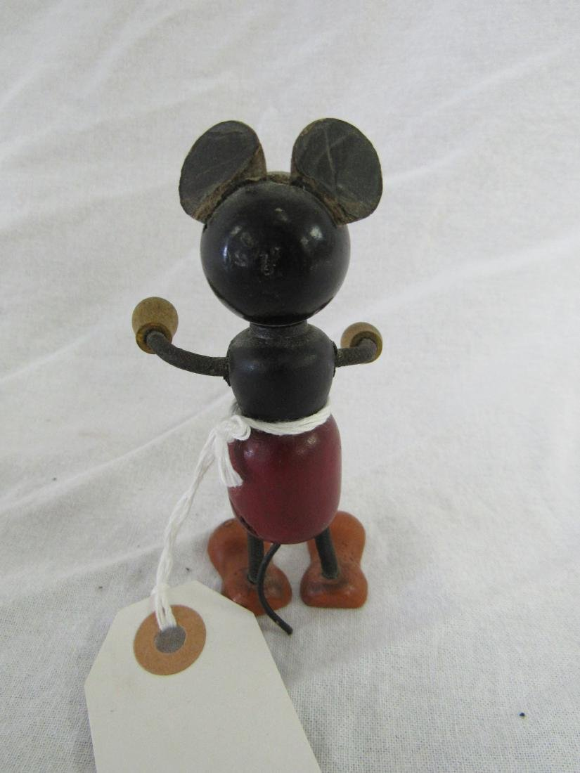 Antique Wooden Mickey Mouse - 2