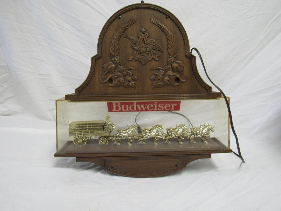 Vintage Budweiser Clydesdale Clock - 4