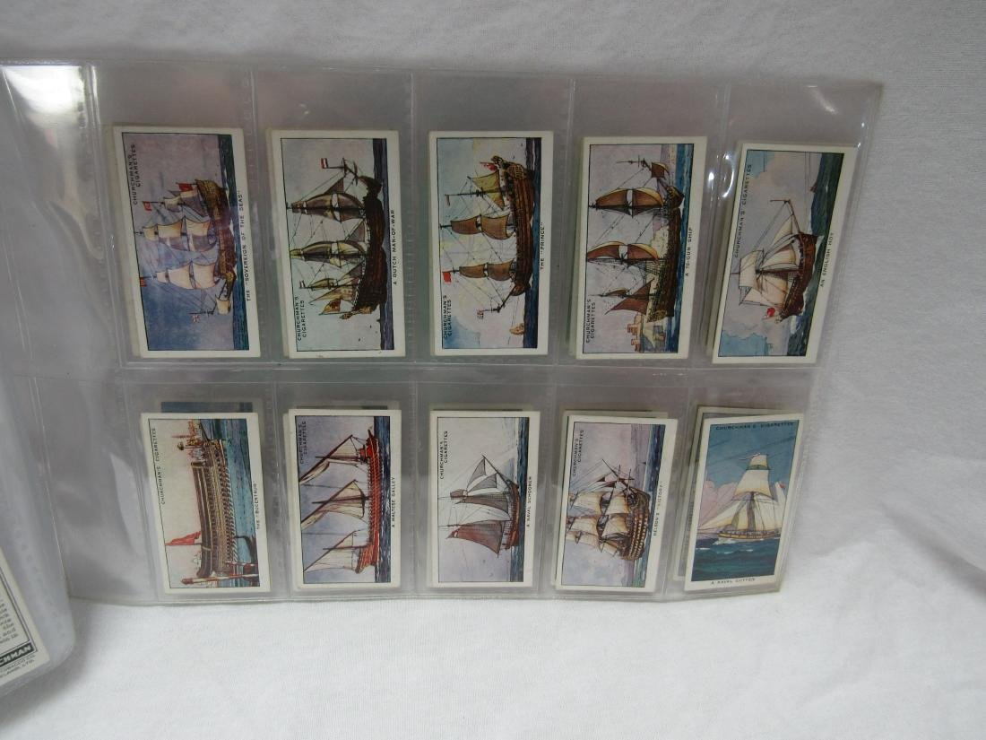 1937 The Story of Navigation Tobacco Cards - 3