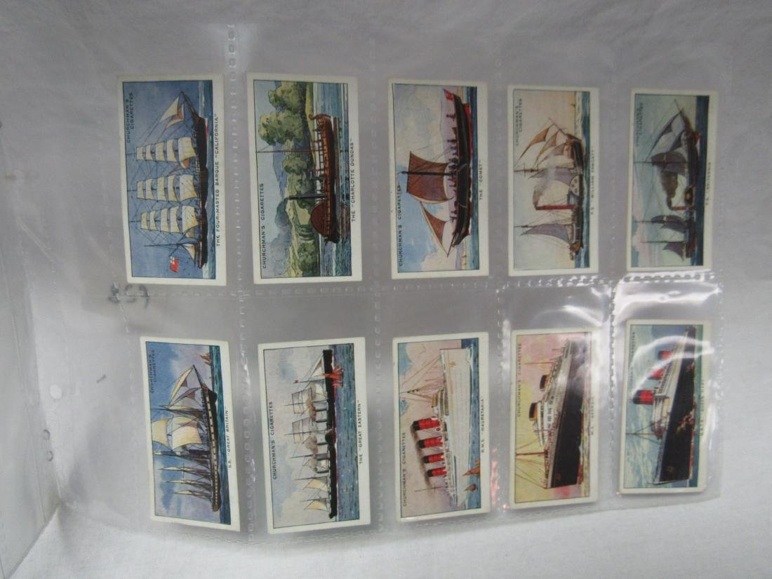 1937 The Story of Navigation Tobacco Cards - 5