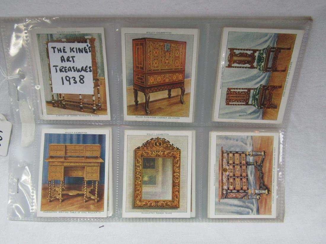 1938 The King's Art Treasures Complete Card Set of 40