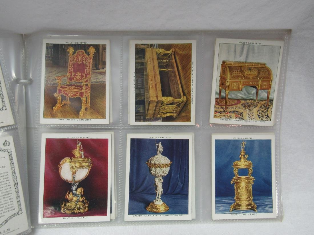 1938 The King's Art Treasures Complete Card Set of 40 - 4