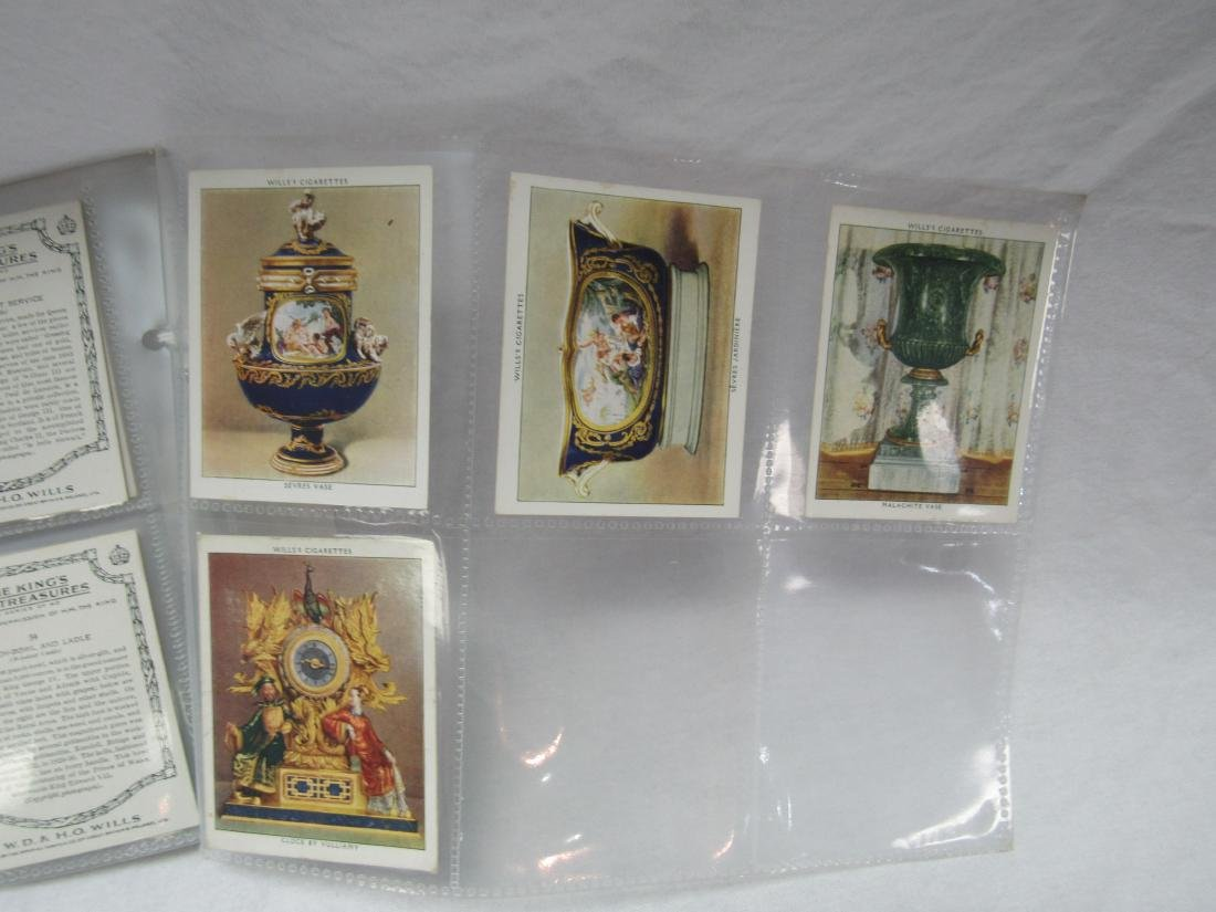 1938 The King's Art Treasures Complete Card Set of 40 - 7