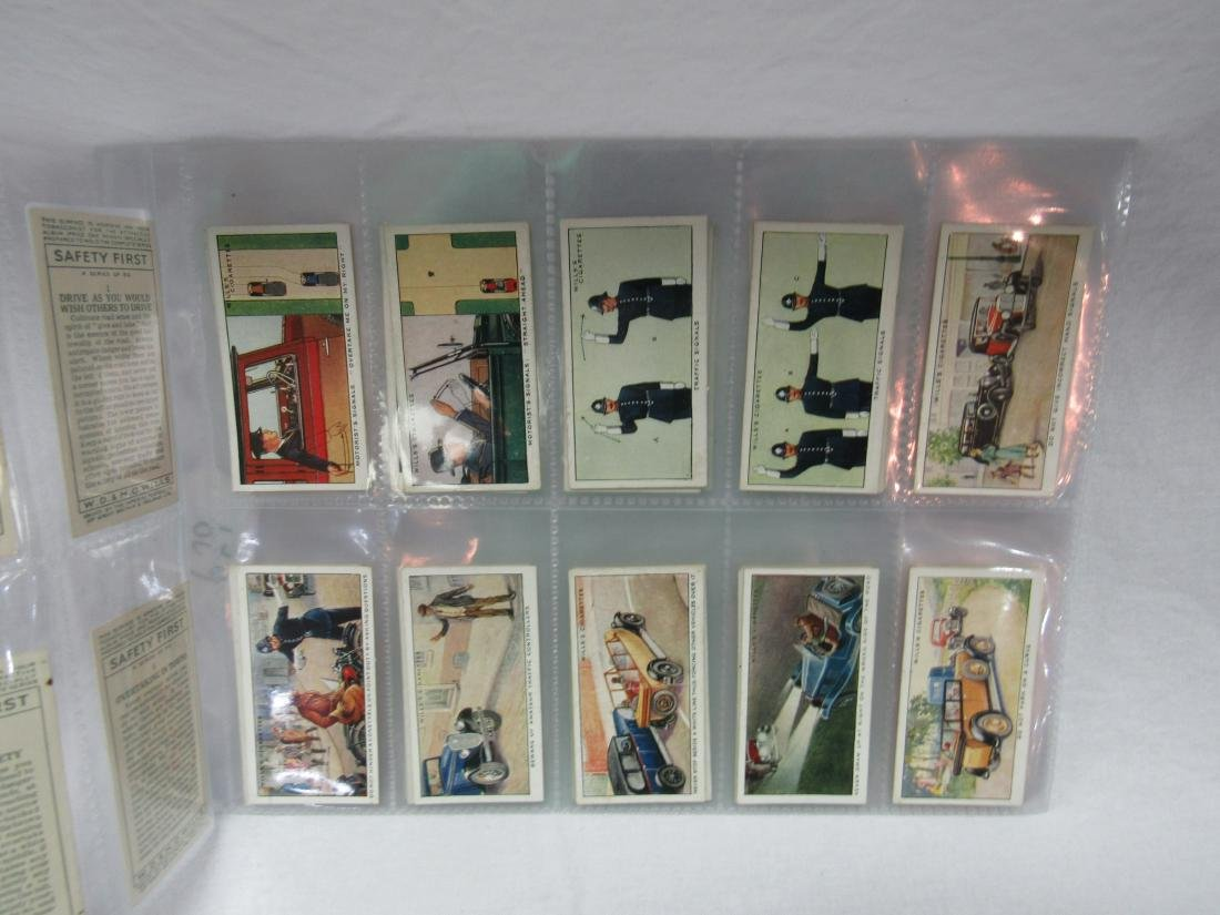 1930's Will Cigarettes Safety First Complete Set of 50 - 2