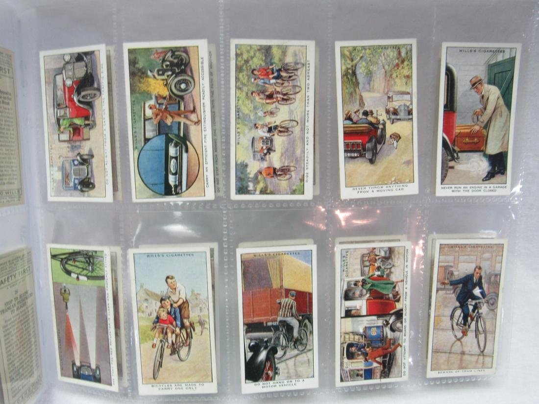 1930's Will Cigarettes Safety First Complete Set of 50 - 4