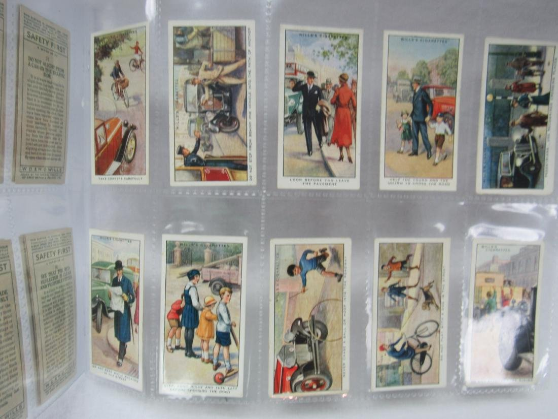 1930's Will Cigarettes Safety First Complete Set of 50 - 5