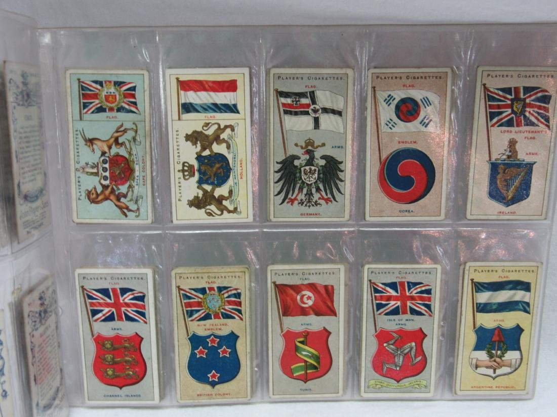Set of 50 Player's Cigarette Flags from 1928 - 3