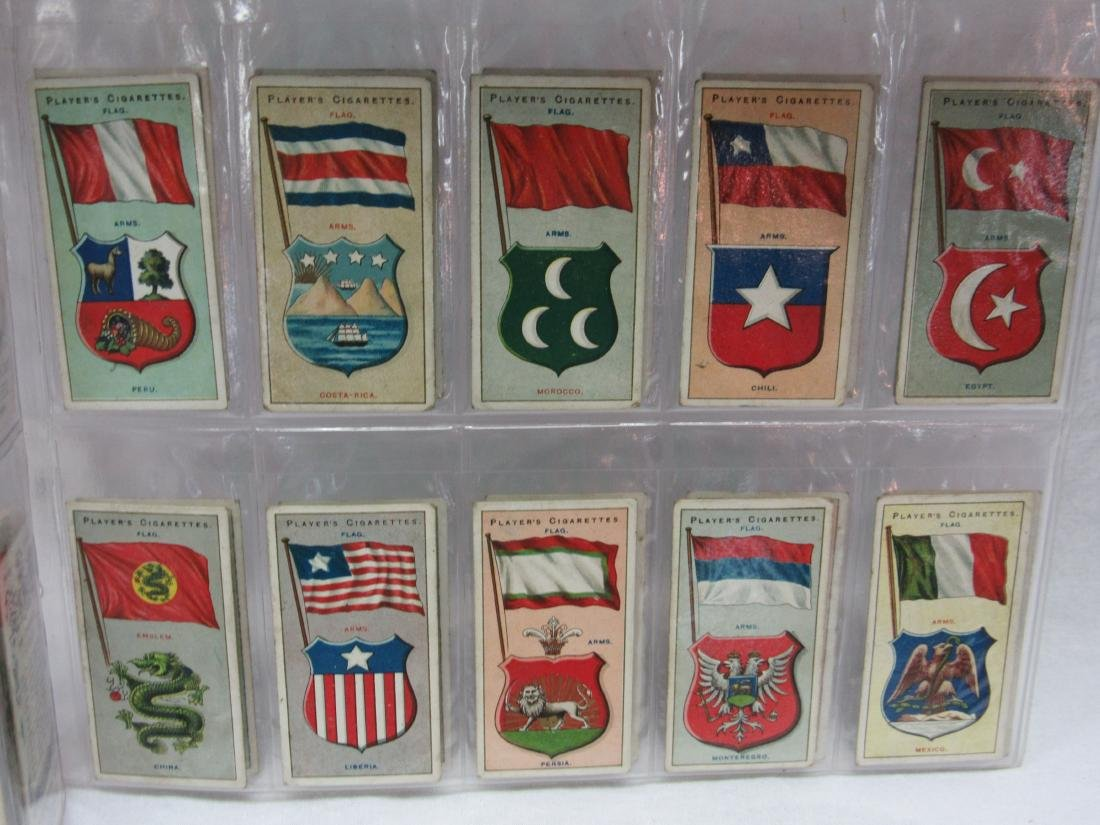 Set of 50 Player's Cigarette Flags from 1928 - 4