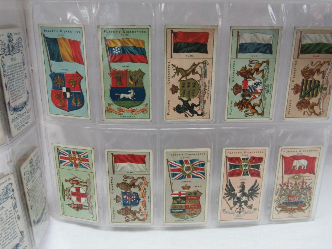 Set of 50 Player's Cigarette Flags from 1928 - 5